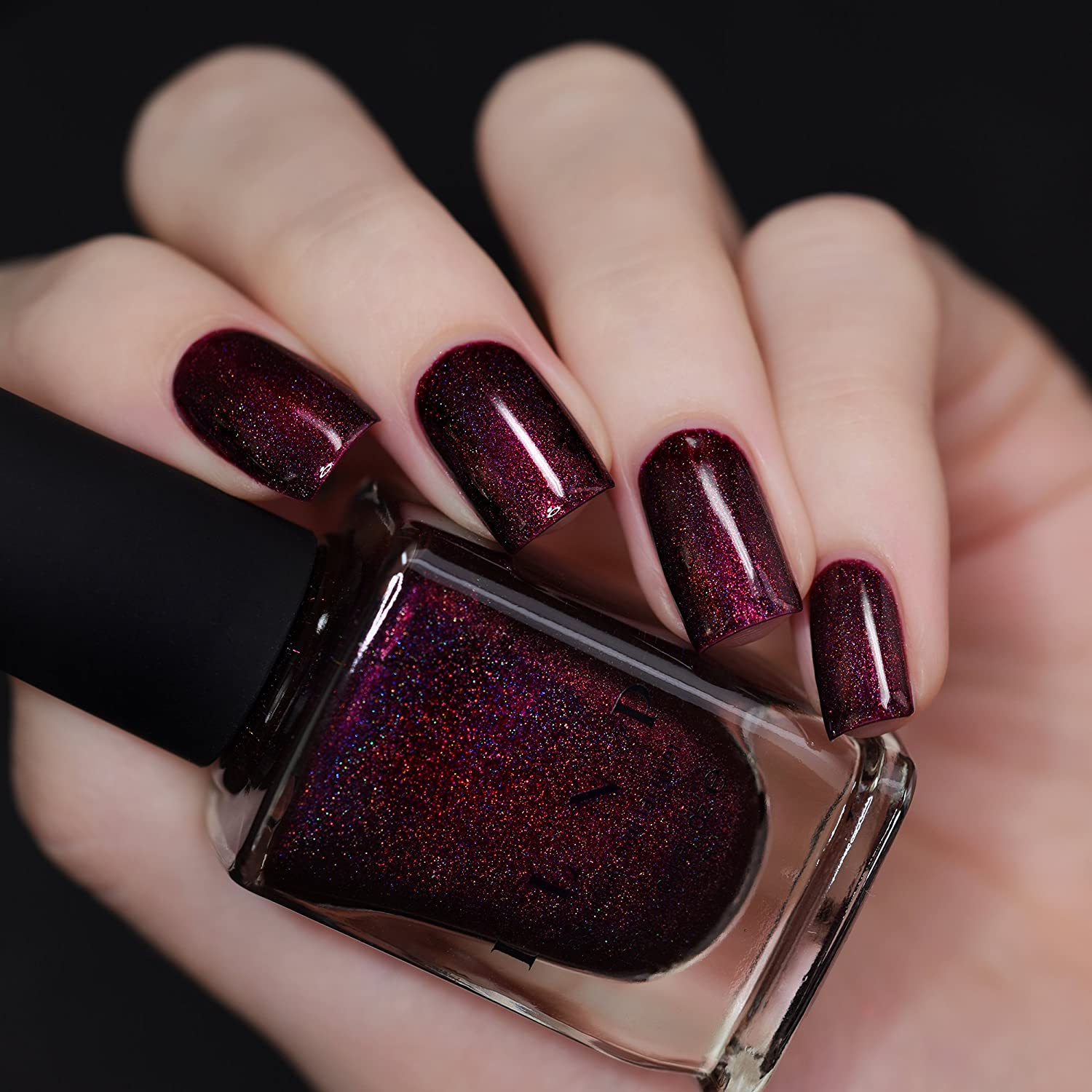 Amazon.com : ILNP Black Orchid - Deep Burgundy / Plum Vampy ...