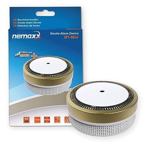 Nemaxx M1 Mini - Detector de humo – sensibles, color dorado