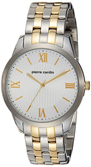 3445313a088 Buy Pierre Cardin Analog Silver Dial Men s Watch - PC107891F07 Online at  Low Prices in India - Amazon.in