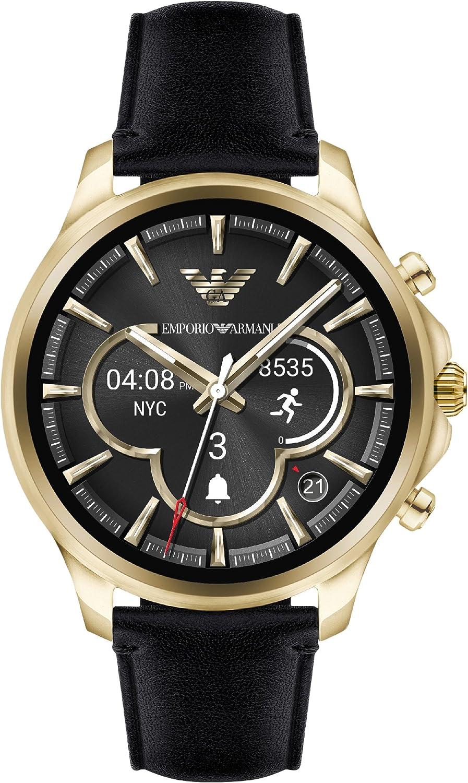 Emporio Armani Reloj Hombre de Digital con Correa en Cuero ART5004