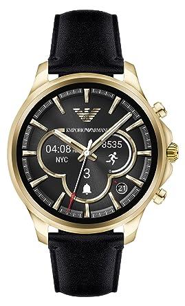 9c4c98c0a3e8 Emporio Armani Reloj Hombre de Digital con Correa en Cuero ART5004   Amazon.es  Relojes