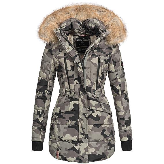toller Wert 2019 am besten verkaufen offizielle Bilder Marikoo NOVA Damen Mantel Wintermantel Steppjacke Winter Jacke lang XS-XXL  6Farben