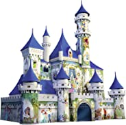 Ravensburger Disney Castle 216 Piece 3D Jigsaw Puzzle for Kids and Adults - Easy Click Technology Means Pieces Fit Together