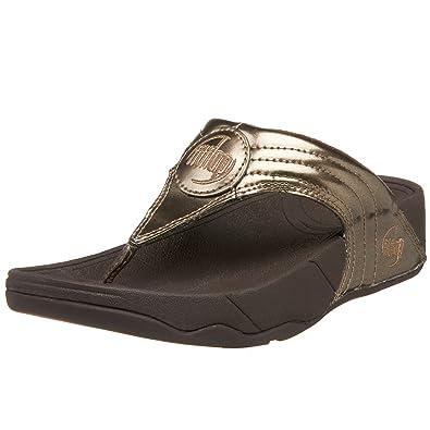 4dba7170d38e0 FitFlop Women s Walkstar 3 Metallic Sandal Sandal