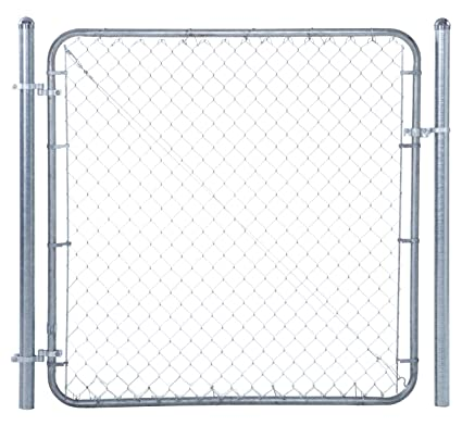 Fit Right Chain Link Fence Walk Through Gate Kit (24u0026quot; 72u0026quot