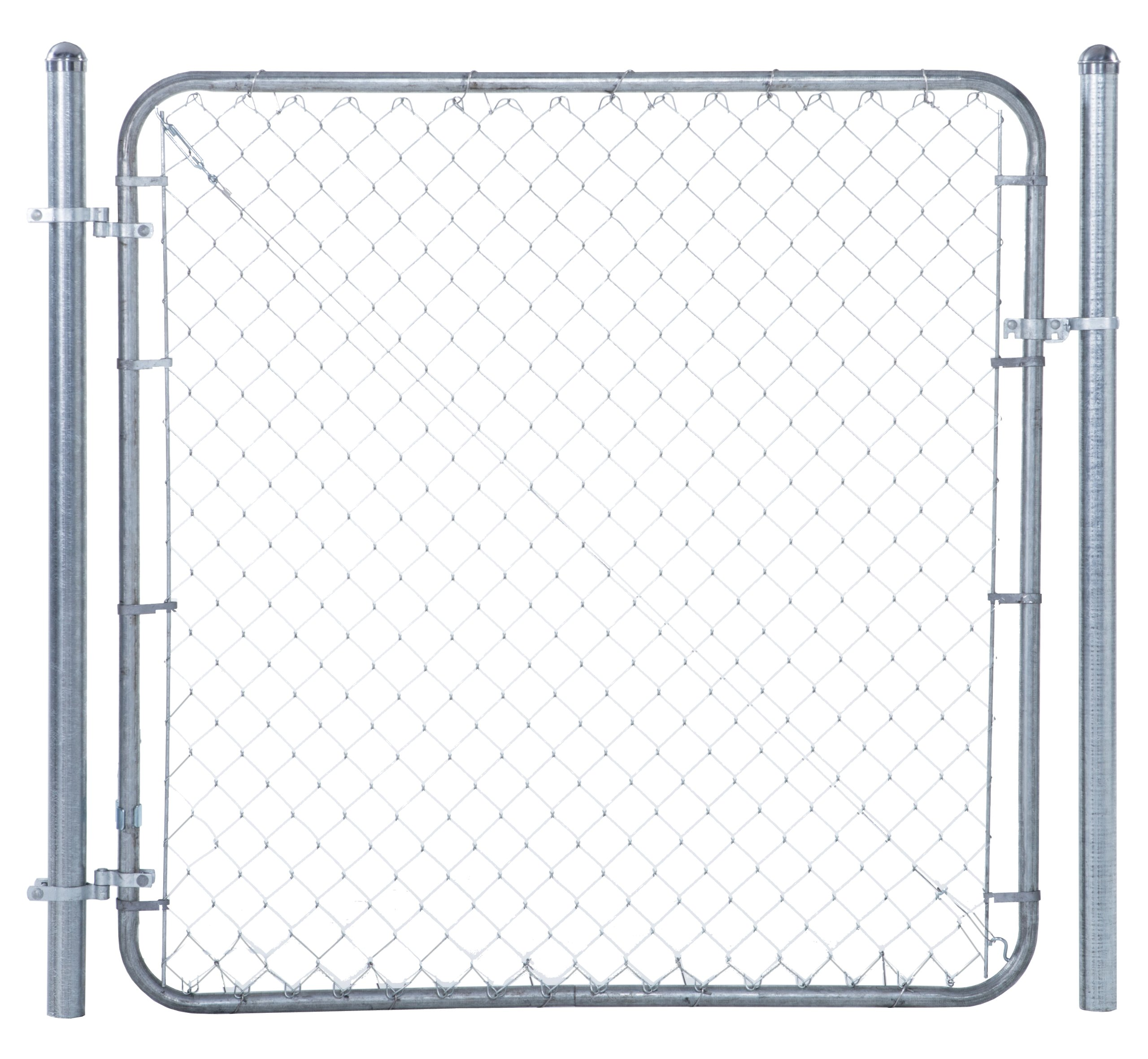 Fit-Right Chain Link Fence Walk-through Gate Kit (24''-72'' wide x 4' high)