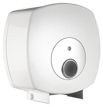 Nova Clean Tools 0610PW Future Jumbo - Dispensador de rollo de papel higiénico, color blanco