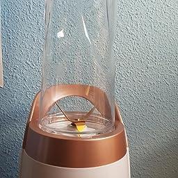 Batidora de vaso LINKChef Batidora de portátil, 300W con 2 ...