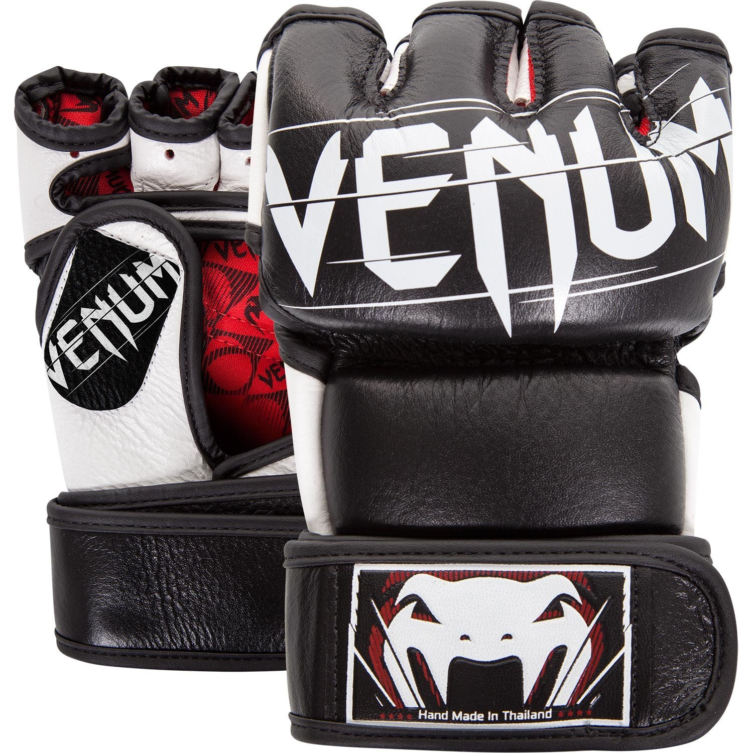 Venum Undisputed 2.0 MMA Gloves, Medium, Black