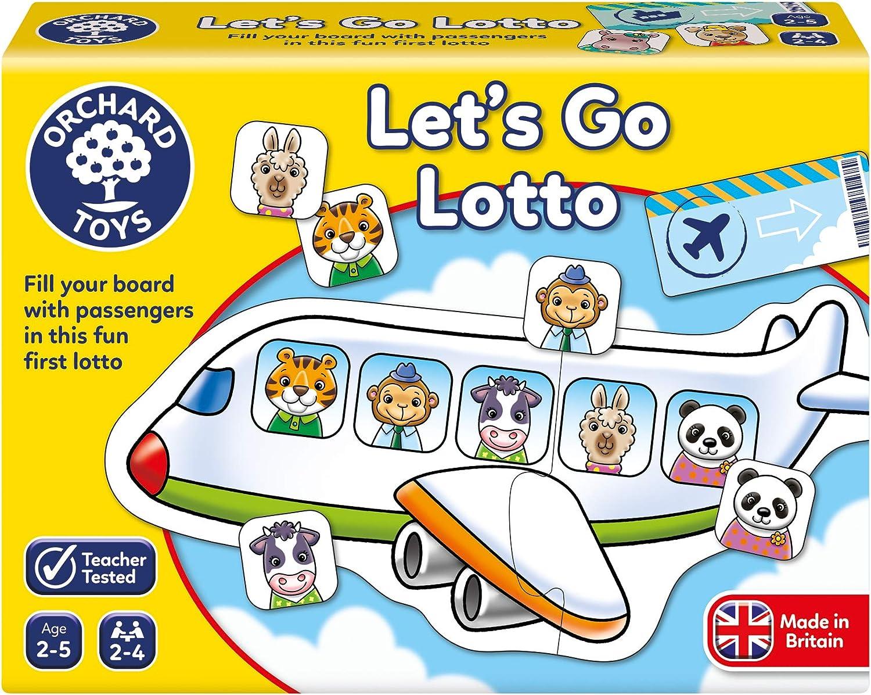 Orchard Toys Lets Go Lotto Juego , color/modelo surtido: Amazon.es: Juguetes y juegos