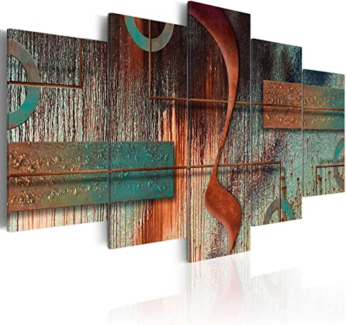 Abstract Painting Print Wall Art Modern Vintage Pictures Large Canvas Artwork