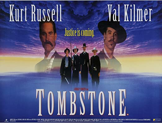 Amazon.com: Old Tin Sign Movie Posters Tombstone Movie Poster ...