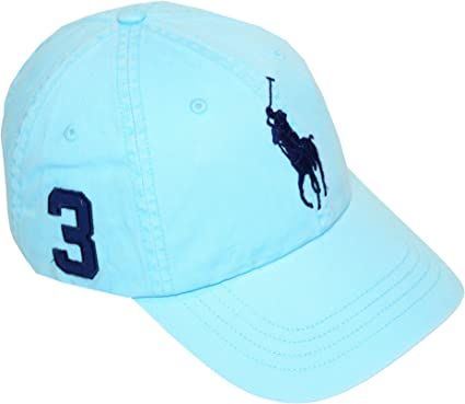 Polo Ralph Lauren Big Pony – Gorra ajustable cap-hammond blue-one ...