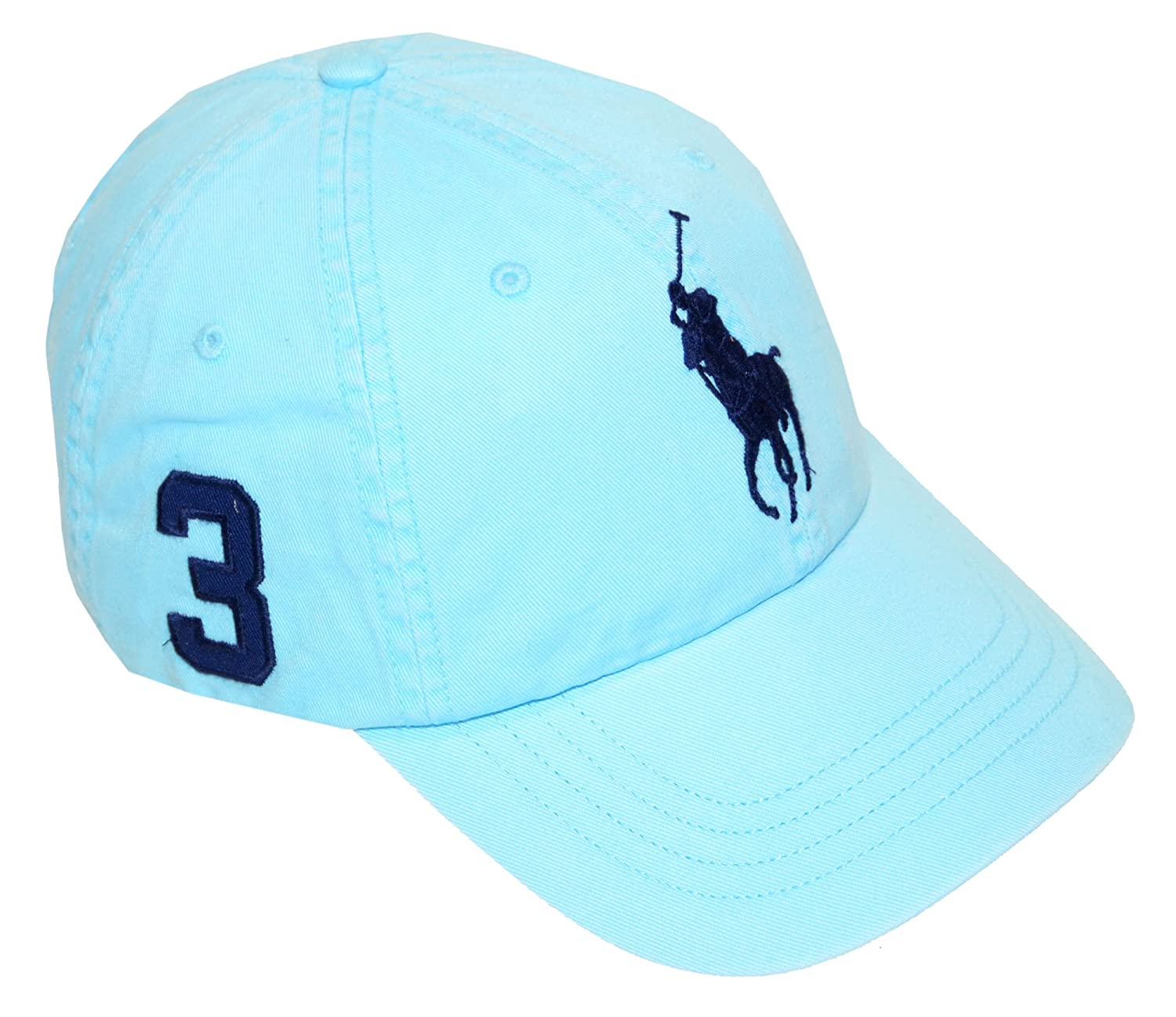 Polo Ralph Lauren Big Pony Adjustable Hat Cap-Hammond Blue-One Size at  Amazon Men\u0027s Clothing store: