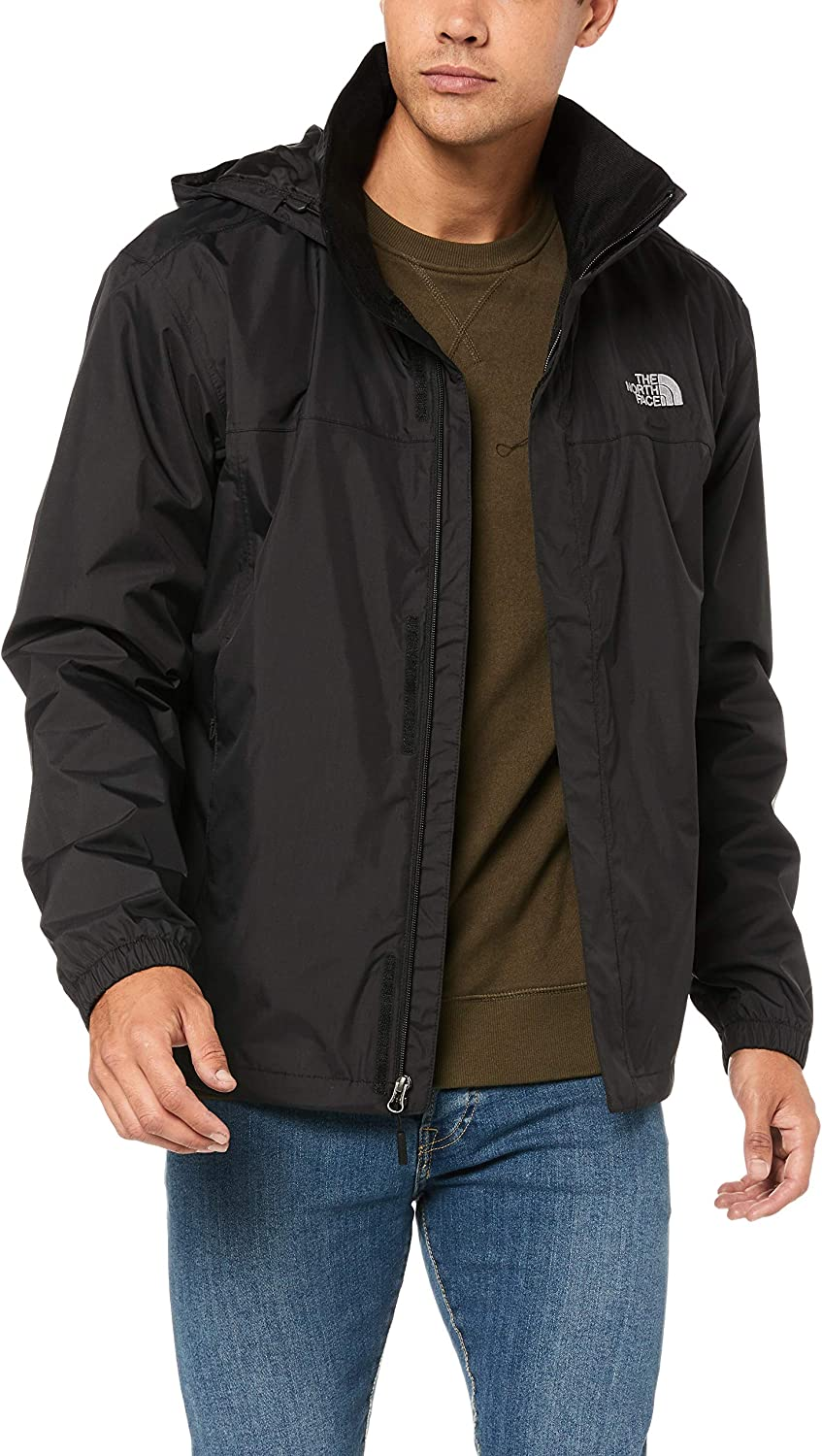The North Face Men's Resolve Waterproof Jacket: Clothing