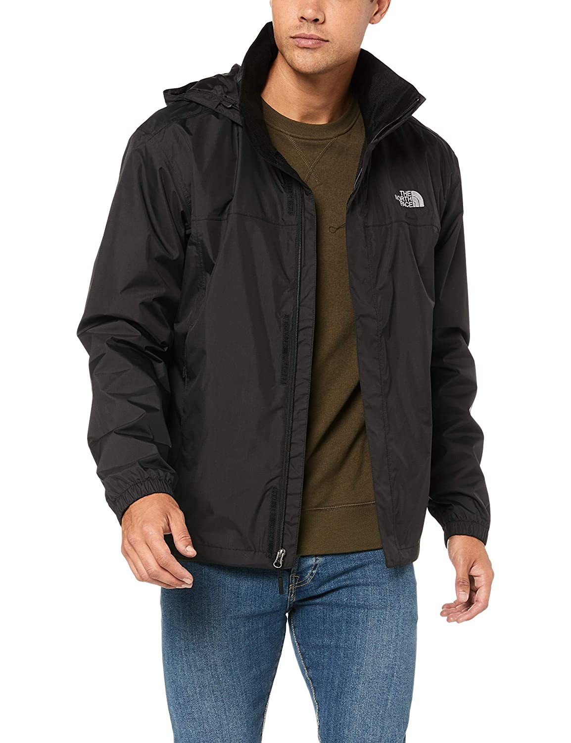 9d97ddd9a The North Face Mens Resolve Windbreaker Jacket: Amazon.ca: Sports ...