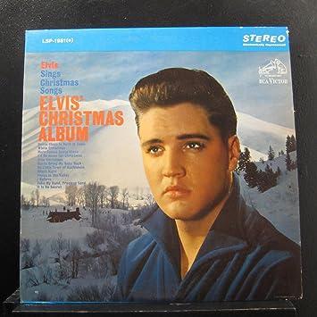 Elvis Christmas Album Vinyl.Elvis Presley Elvis Christmas Album Lp Vinyl Record