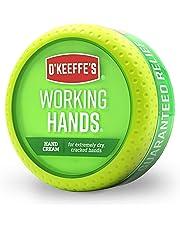 O'Keeffe's - Working Hand Cream - 3.4 oz - Green - 96 Gram Jar