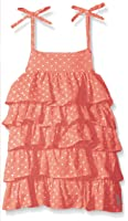 U.S. Polo Assn. Baby Girls' Dotted Swiss Tiered Sundress