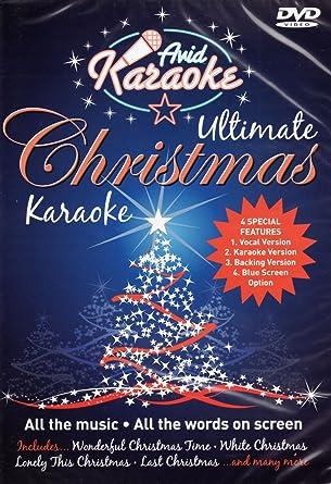 Ultimate Christmas Karaoke [Interactive DVD]: Amazon.co.uk ...