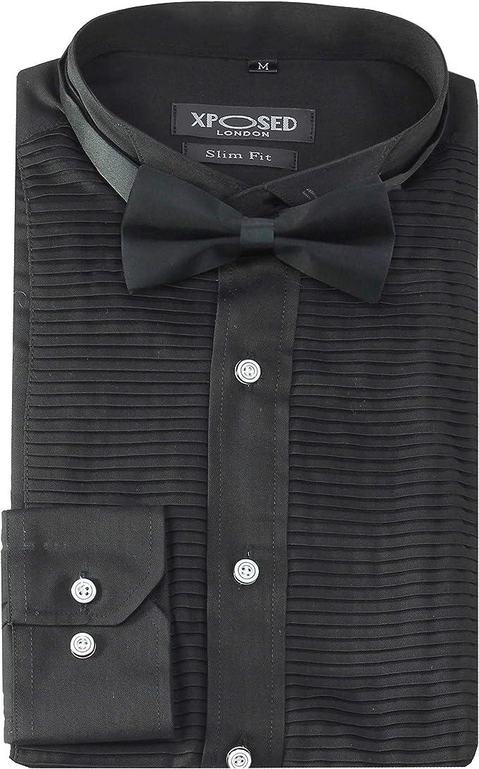 Xposed - Vestido Formal de Noche para Hombre, Esmoquin, Corbata ...