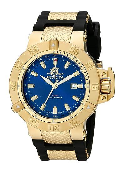 Invicta 1150 Subaqua - Noma III Reloj para Hombre acero inoxidable Cuarzo Esfera azul: Amazon.es: Relojes