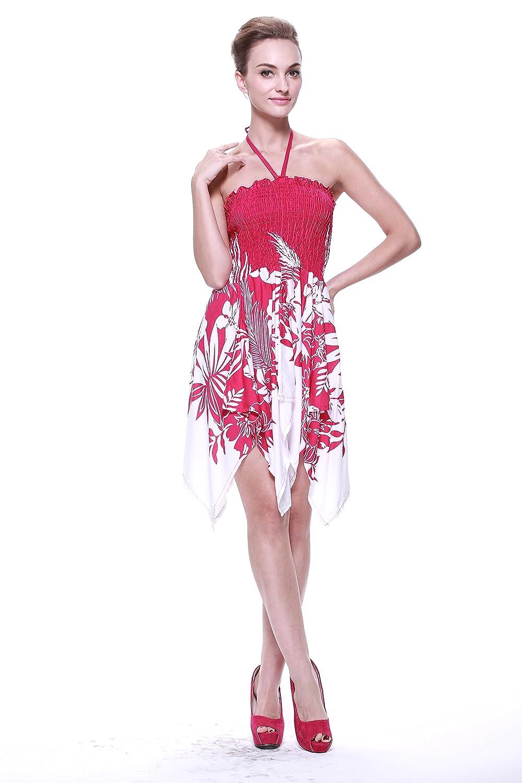 Dorable Vestido De Fiesta Hawaiano Bandera - Ideas de Estilos de ...