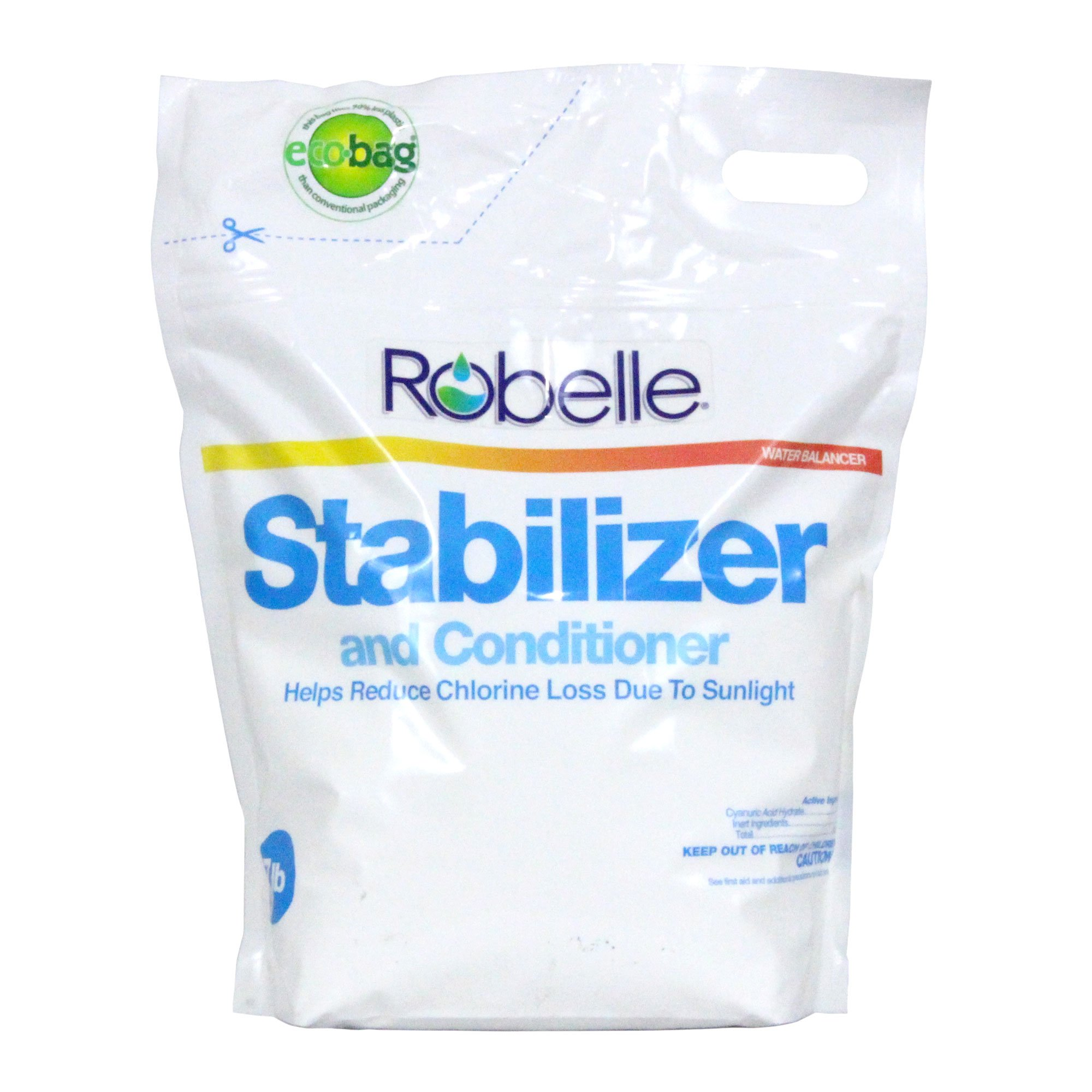 Robelle 2607B Stabilizer for Swimming Pools, 7 lb by Robelle
