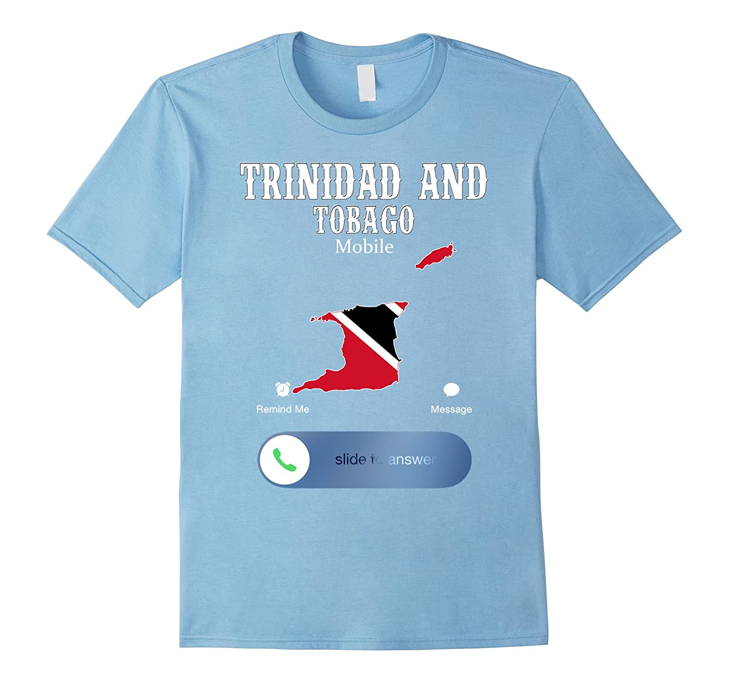 Trinidad and Tobago Is Calling And I Must Go Shirts-FL