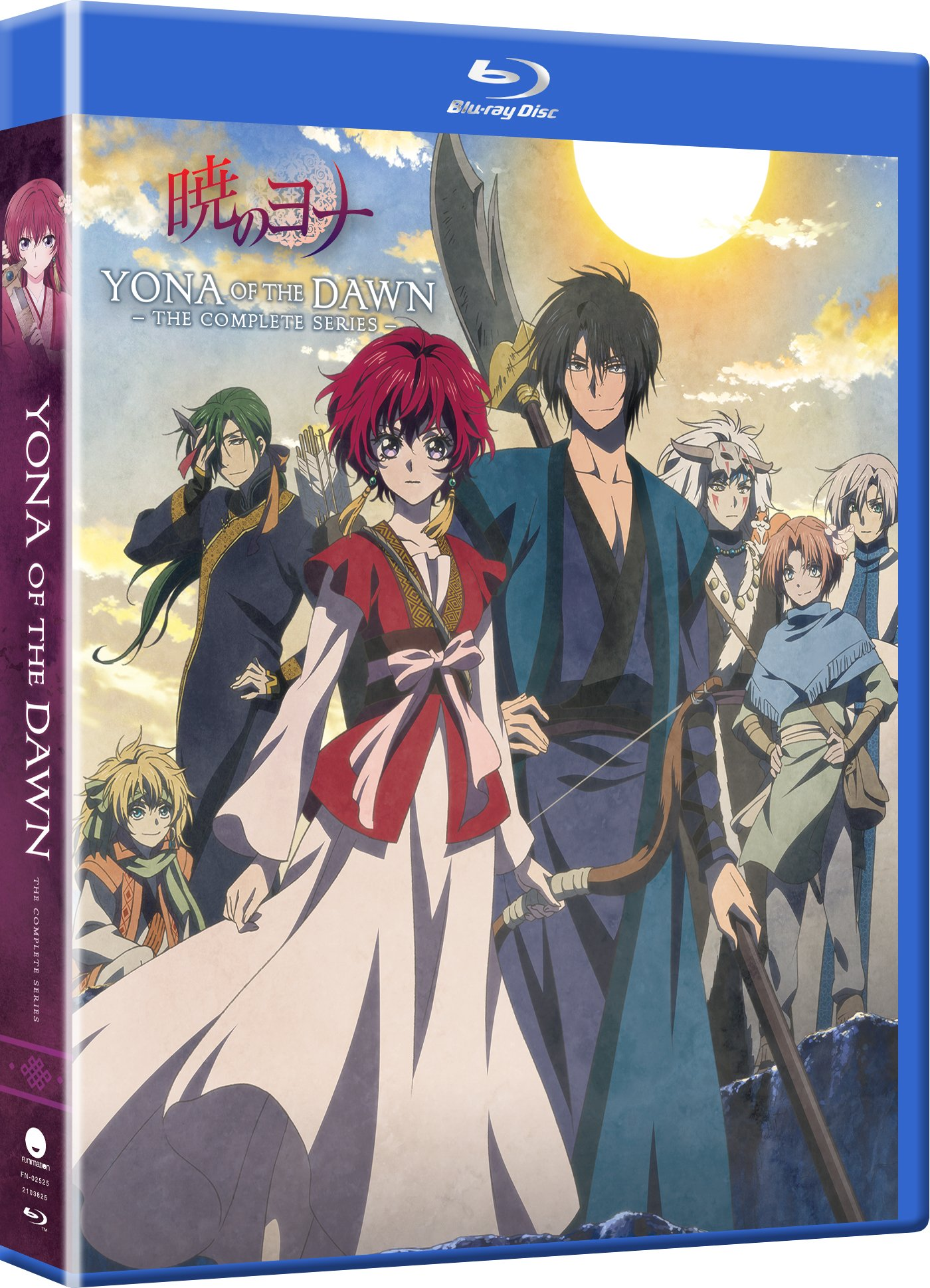Blu-ray : Yona Of The Dawn: The Complete Series (Boxed Set, Subtitled, Snap Case, Slipsleeve Packaging, Digital Copy)