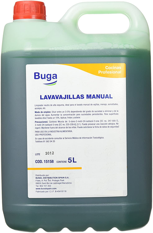 Bunzl Lavavajillas Líquido - 100 gr: Amazon.es: Alimentación ...