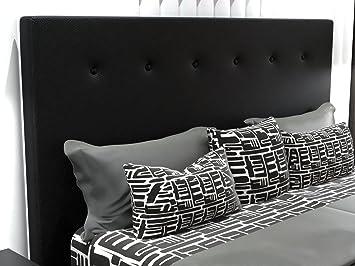 LA WEB DEL COLCHON Cabecero de Cama tapizado Acolchado Macedonia (Cama 105) 115 x