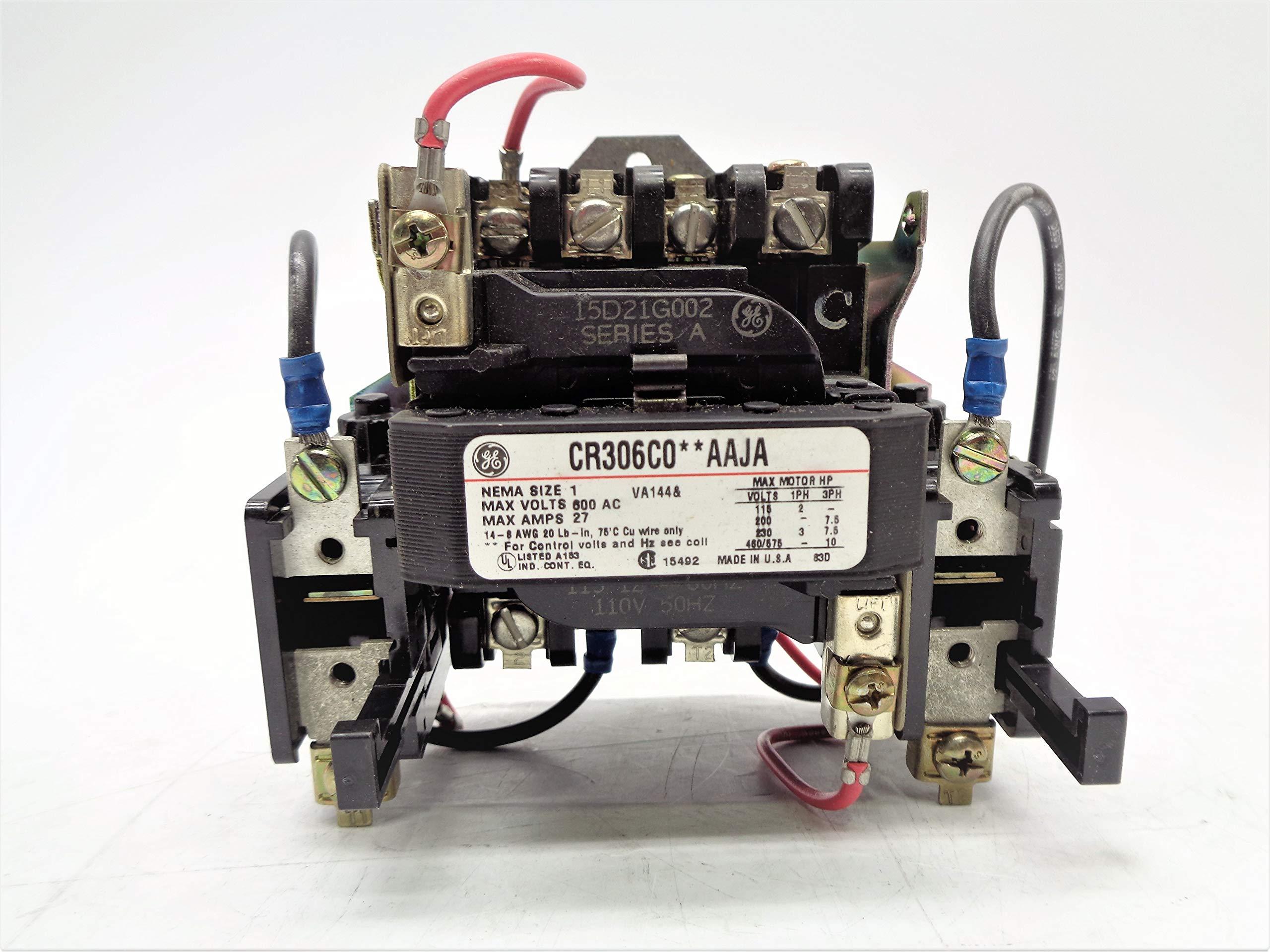 Cutler Hammer CR306C002AAJA 27A 600VAC NSNP