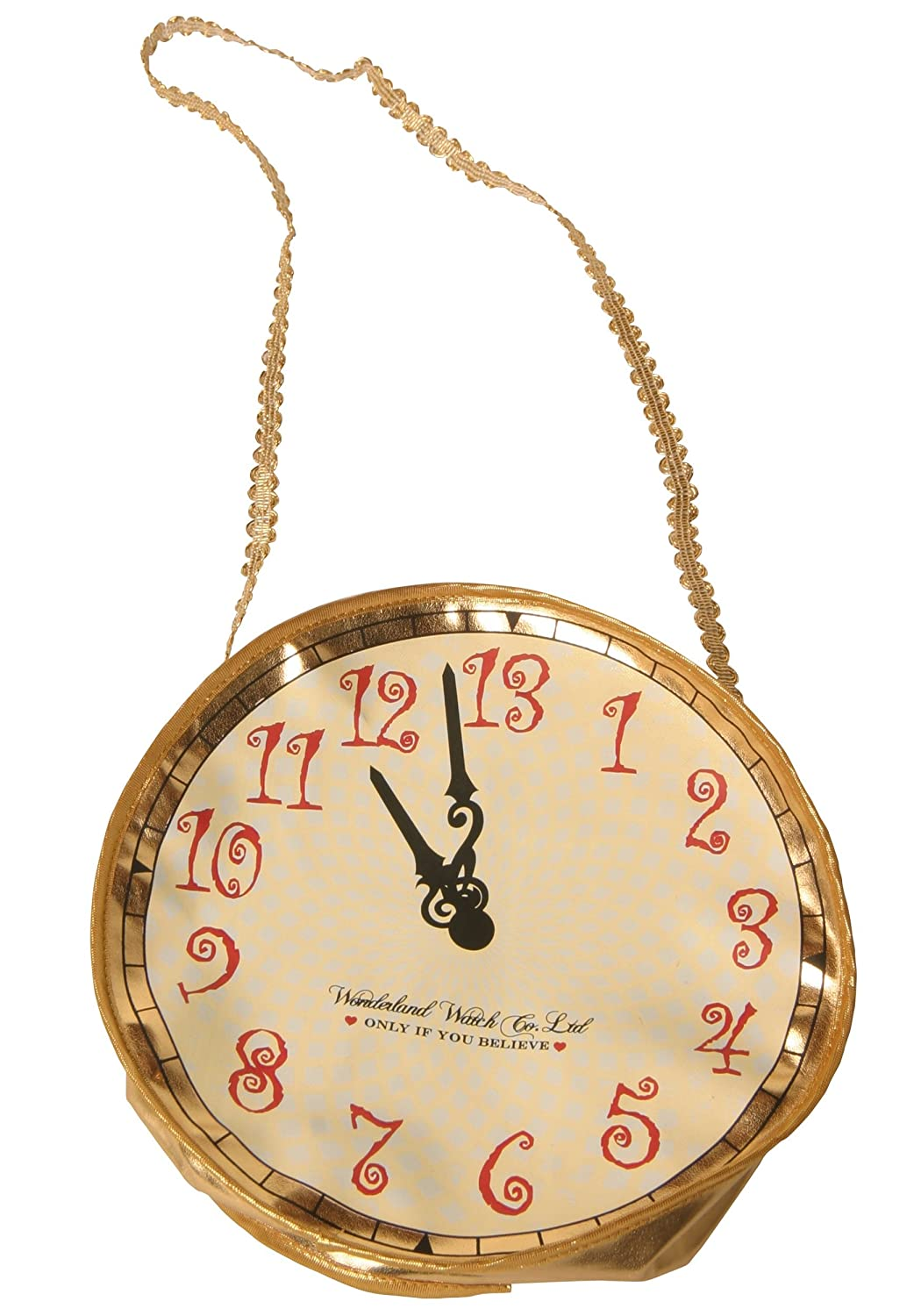 Gold Alice and Wonderland Rabbit Clock Purse