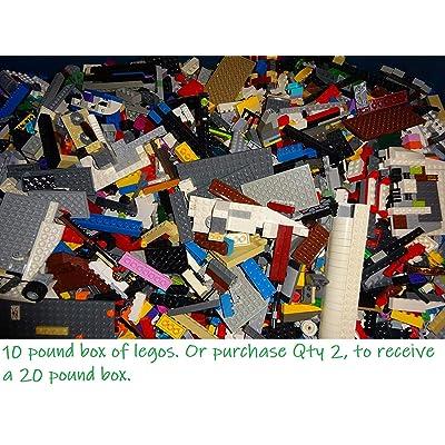 LEGO 10 Pounds Bulk Lot! Random Parts, Pieces & Bricks: Toys & Games