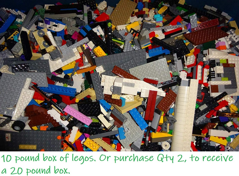 LEGO 10 Pounds Bulk Lot! Random Parts, Pieces & Bricks