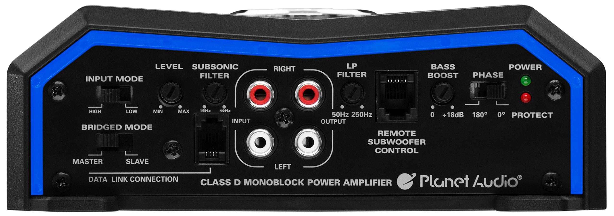 Planet Audio PL4000.1D Pulse 4000 Watt, 1 Ohm Stable Class D Monoblock Car Amplifier with Remote Subwoofer Control by Planet Audio (Image #4)