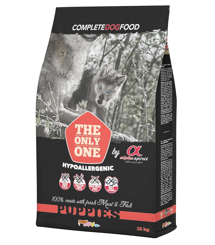 Alpha spirit Alimento Completo Seco Multiprotein Hipoalergénico para Perros Cachorros - 12000 gr: Amazon.es: Productos para mascotas