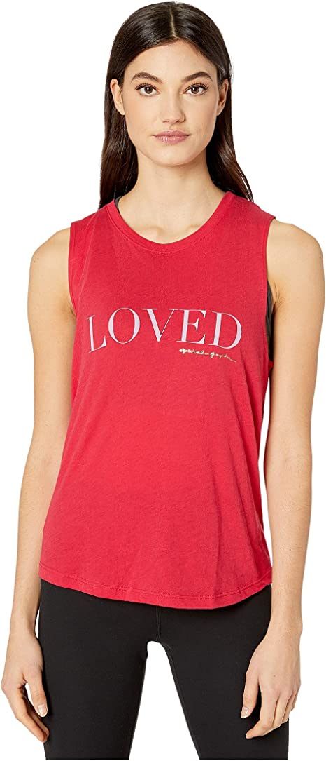 New Spiritual Gangster Women/'s Muscle Tank cropped t shirt  Top vintage red