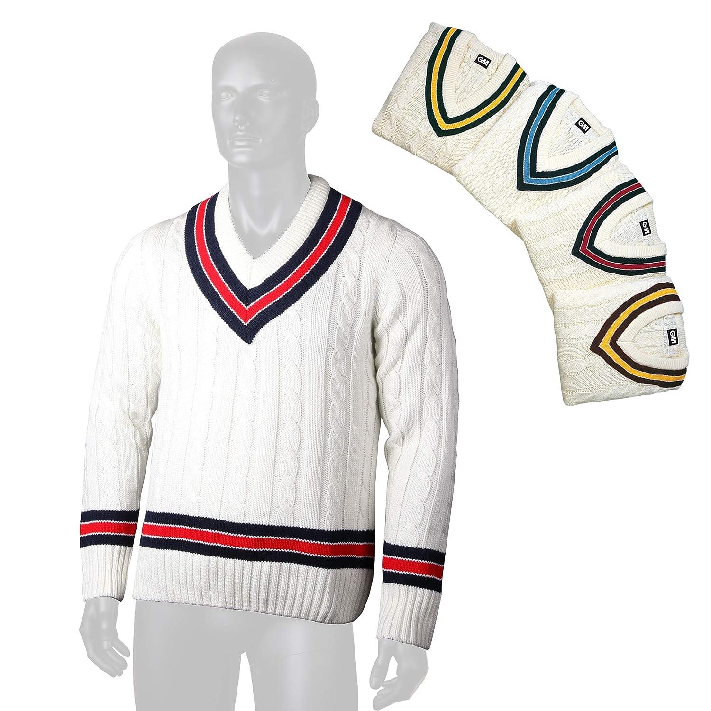 afdda3fd54df Gunn & Moore Cricket Sweater: Amazon.co.uk: Clothing