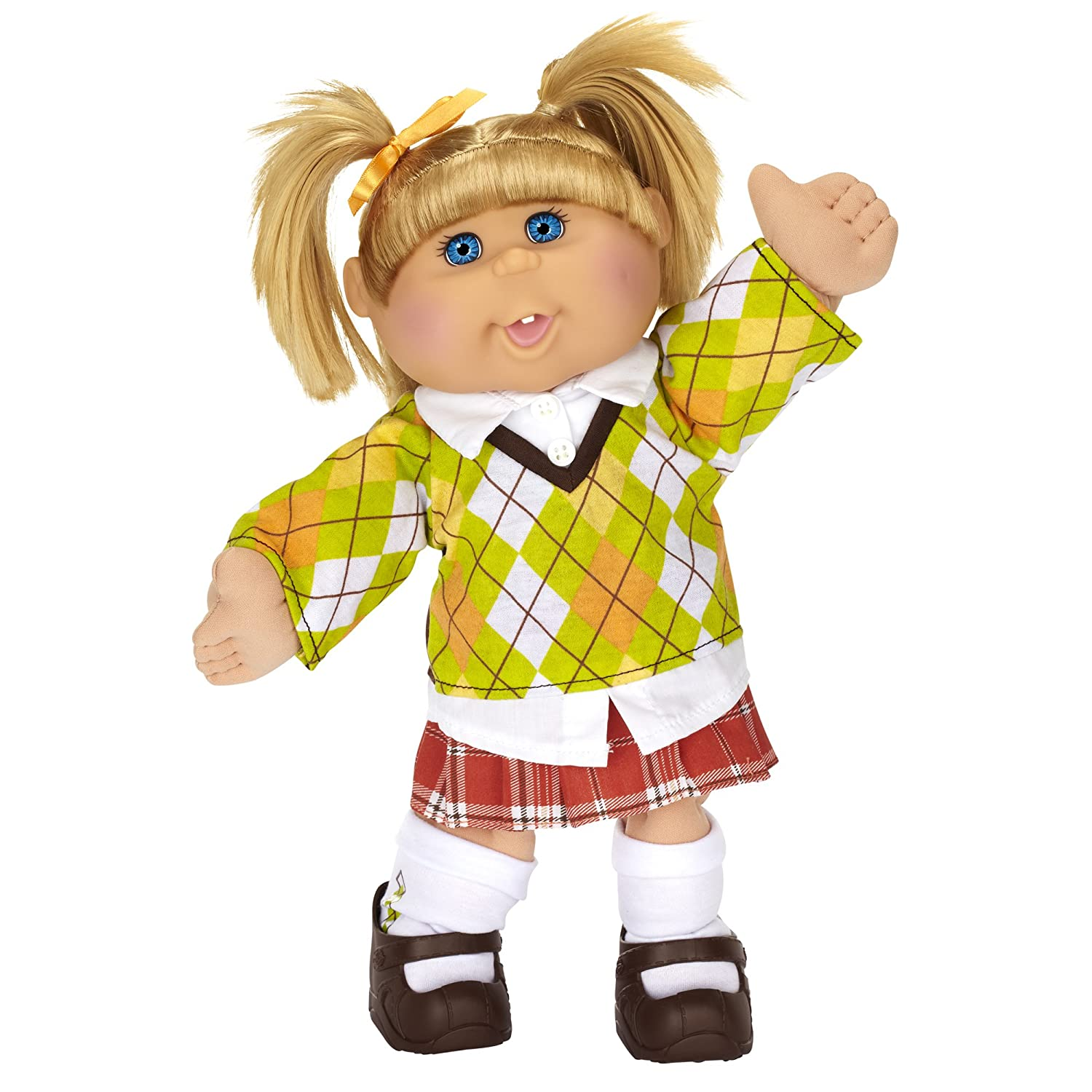 Cabbage patch kids blonde preppy girl amazon toys games aiddatafo Images