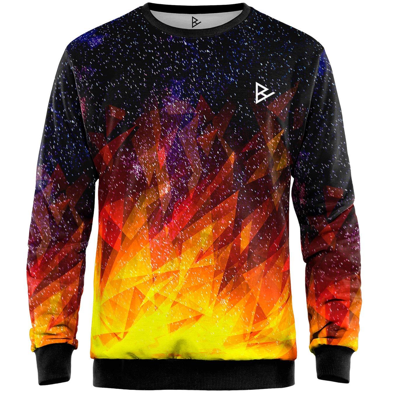 Blowhammer - Sweatshirt Herren - Burning Night SWT