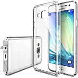 Galaxy A3 Case - Ringke FUSION Galaxy A3 Case [Free HD Film/Dust Cap&Drop Protection][CRYSTAL VIEW] Shock Absorption Bumper Premium Hard Case for Samsung Galaxy A3 - Eco/DIY Package
