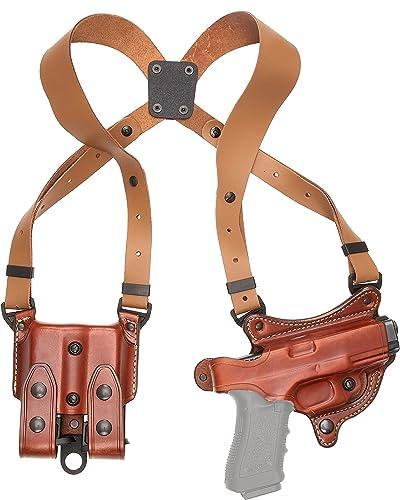 Aker Leather 107 FlatSider XR7 Shoulder Holster