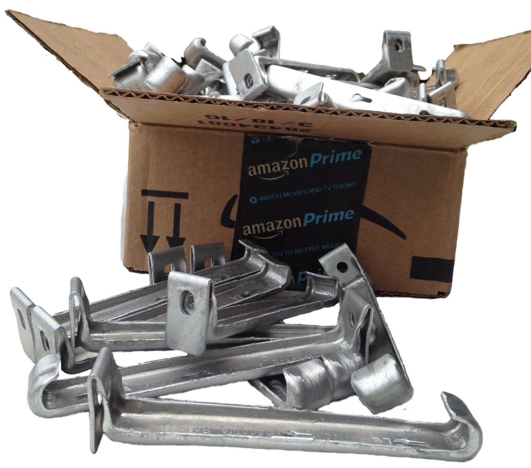 5 inch Raytec Hangtite hidden gutter hanger (50 pack)