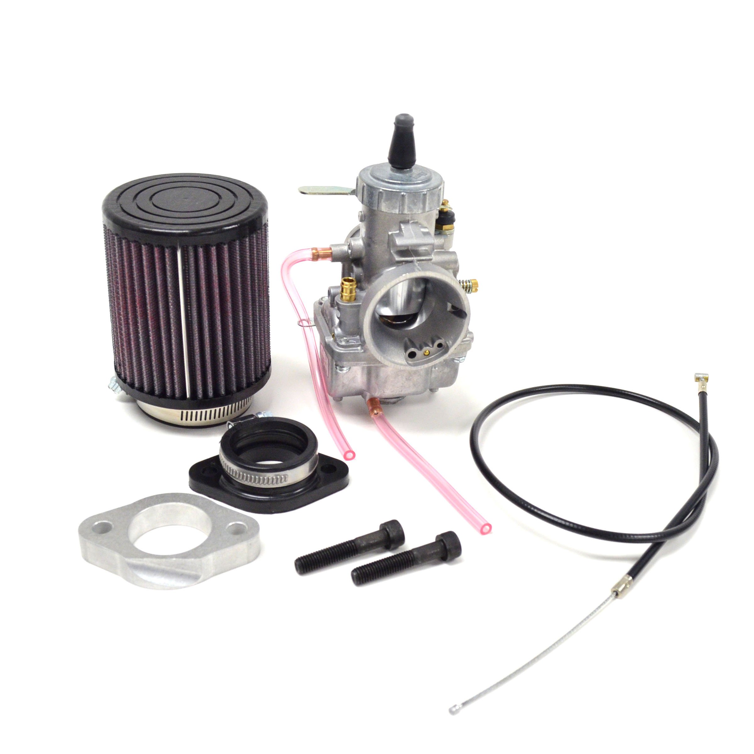 Royal Enfield 500 34mm VM34 Complete Mikuni Carburetor Kit 2000-Later NCS237 by Niche Cycle Supply