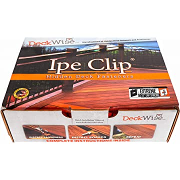 reliable DeckWise Ipe Clip Extreme