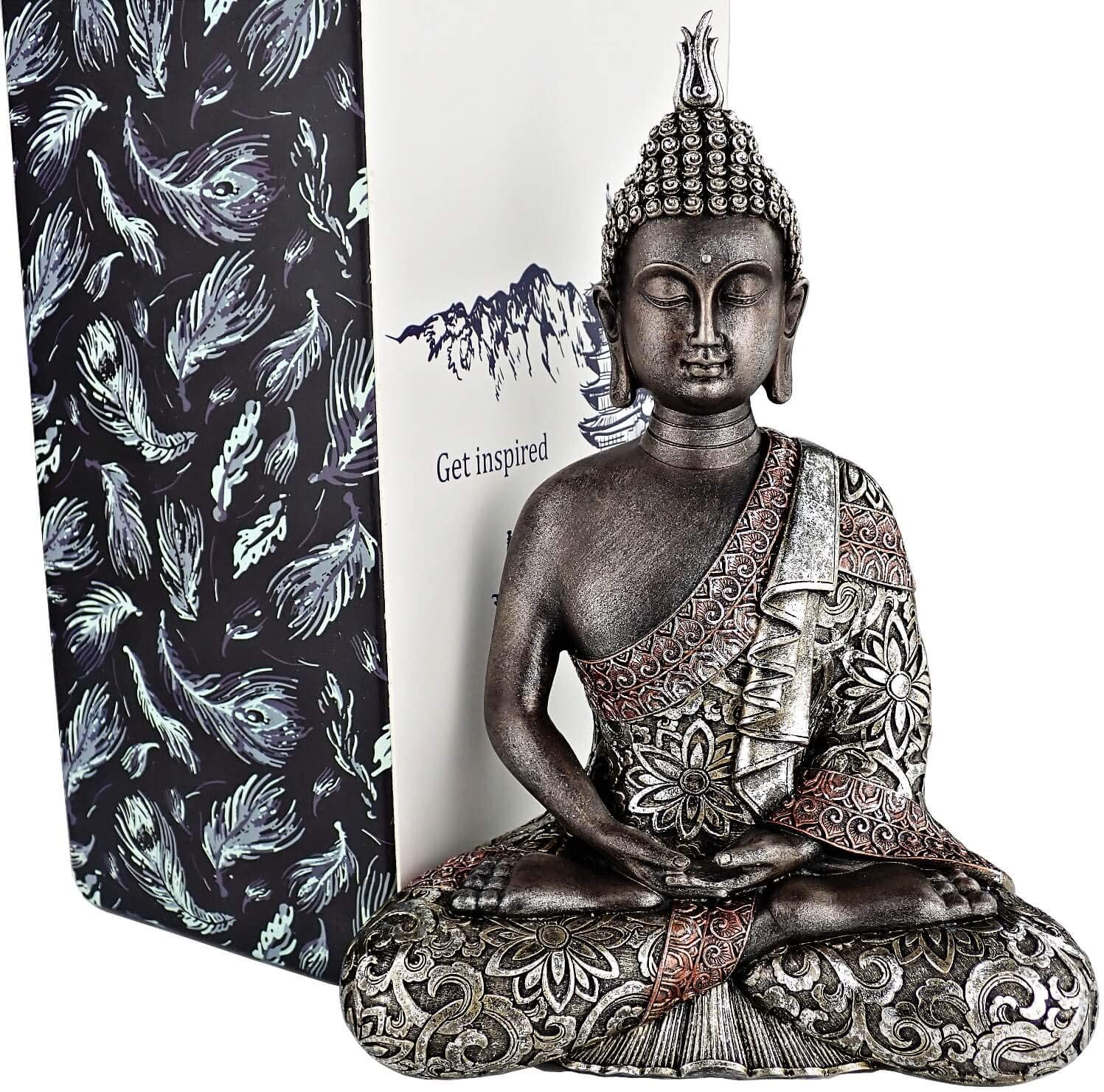 25DOL Buddha Statues for Home. 7.3