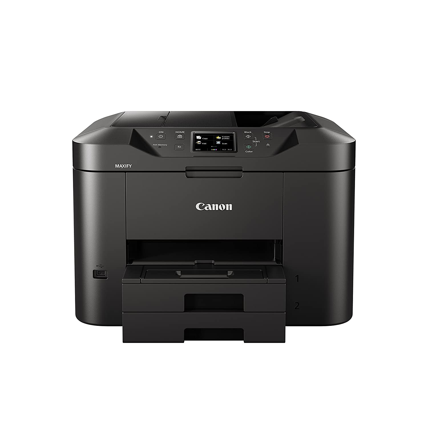 Canon MAXIFY MB2720 Wireless Color Printer with Scanner, Copier ...