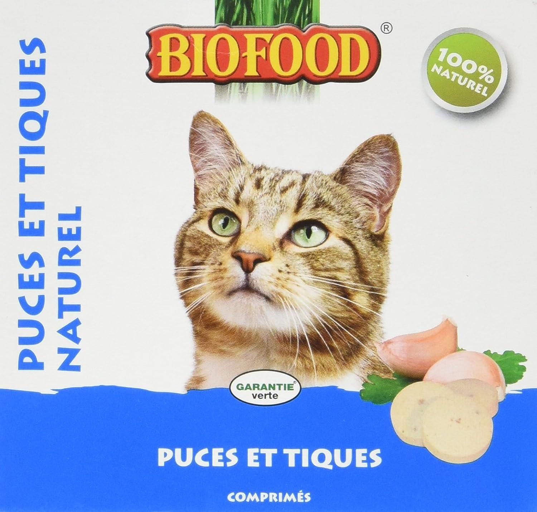 Biofood Friandise Anti-Puces Naturel pour Chat 100 Pièces 4027